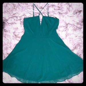 Beautiful Emerald Green Dress